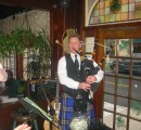 Charleston Bagpiper, bagpipe music