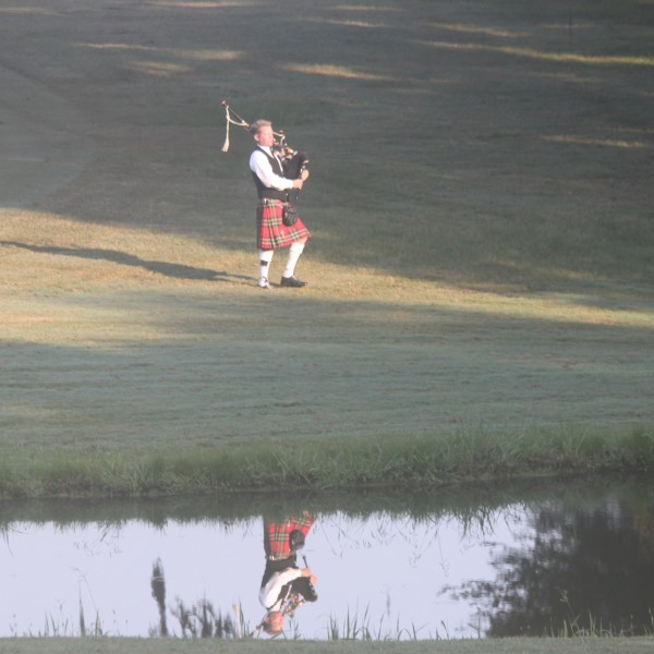 bagpiping, bagpiper, bagpipes, bagpipe, wedding, golf south carolina, charleston, sc
