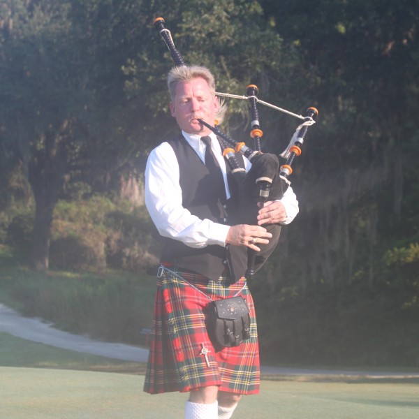 Bagpipe, charleston, south carolina, wedding, golf, tournament, weddings, bagpiper